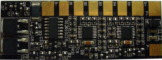 供应六串锂电池保护板