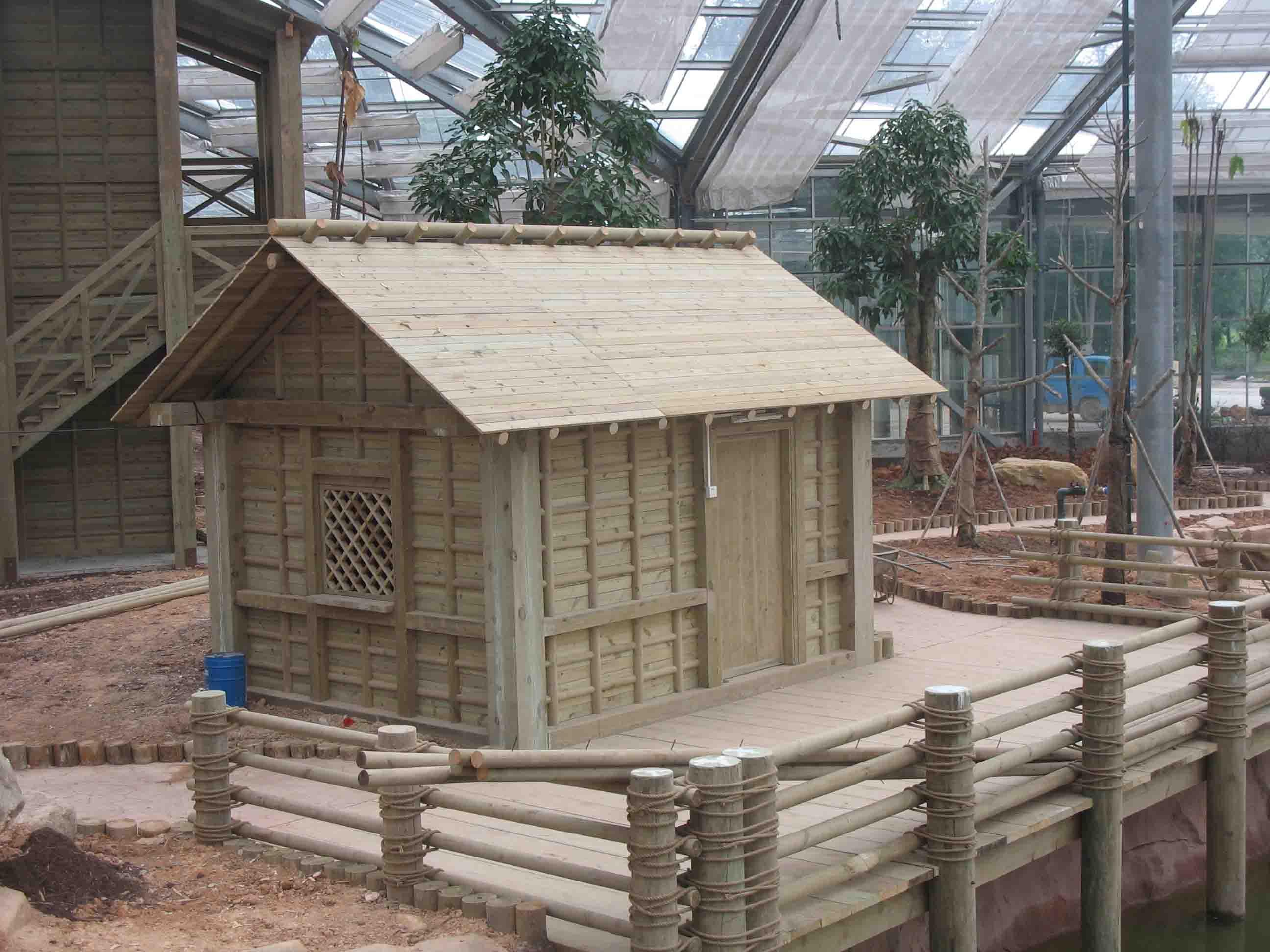 供应欧洲赤松(樟子松) 防腐木材 地板