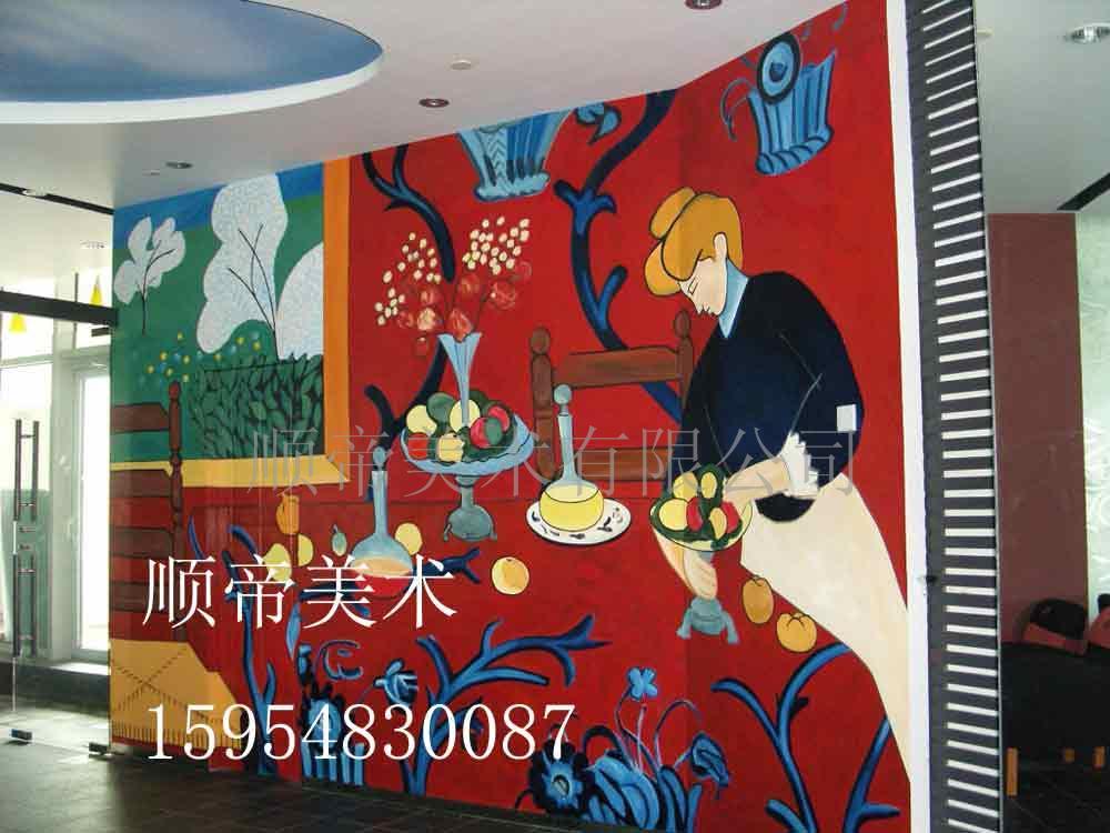 供应专业手绘各种咖啡厅,酒吧,家庭壁画