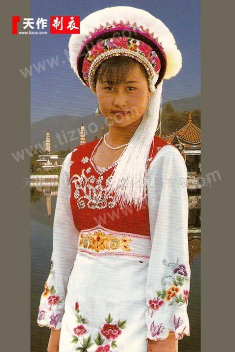 定做白族服飾:民族服裝設計制作