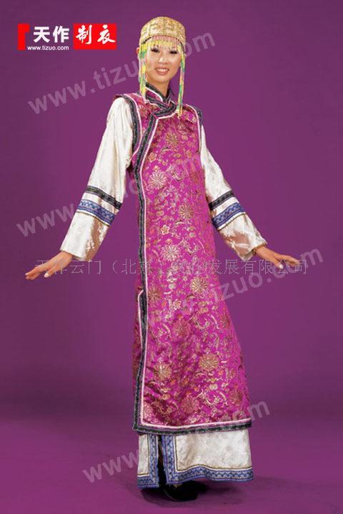 定做达斡尔族服饰:民族服装设计制作
