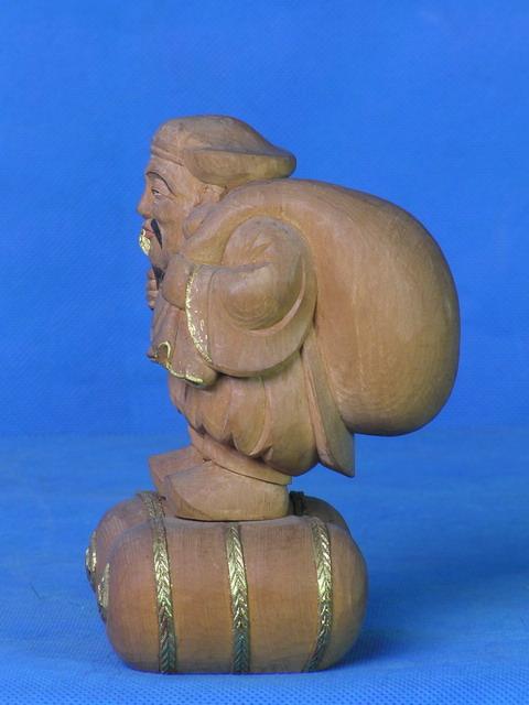 木雕佛像大黑天