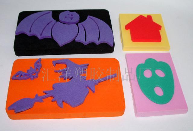 海绵玩具 海绵动物 海绵花