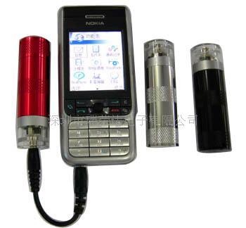 一节五号电池手机应急充电器