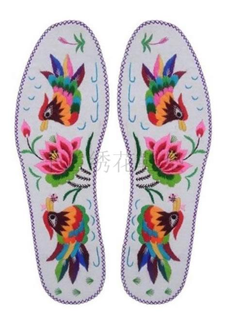手工绣花鞋垫价格 手工绣花鞋垫图片 手工绣花鞋垫图案