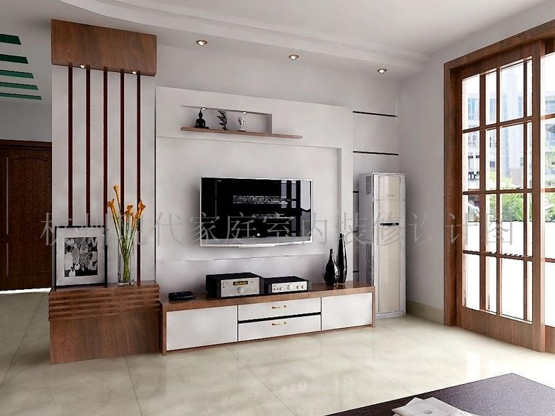 杭州现代家庭室内装修效果图