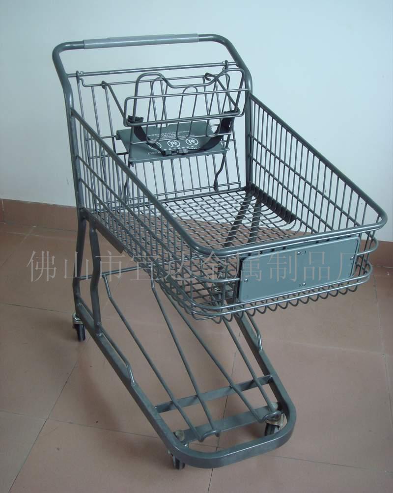 供应日式购物车 手推车 超市购物车