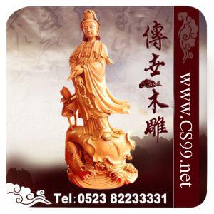 泰州传世木雕佛像雕刻厂