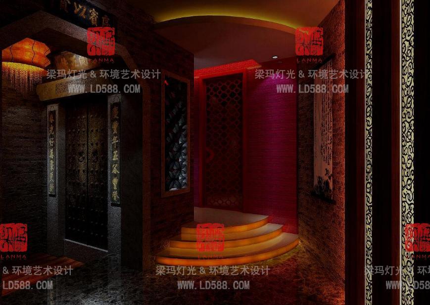泰国风格设计-梁玛灯光&环境艺术设计