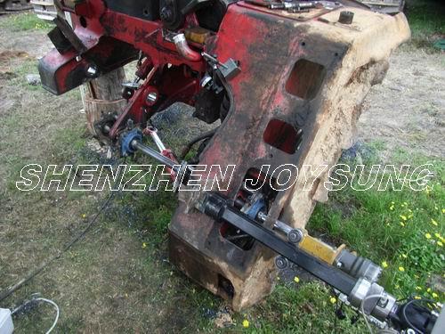 镗杆采用高强度合金结构