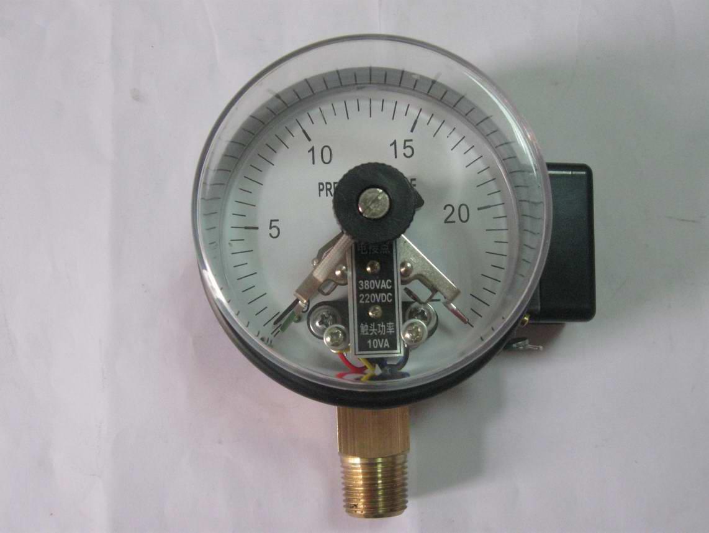 供应60mm径向真空电接点压力表
