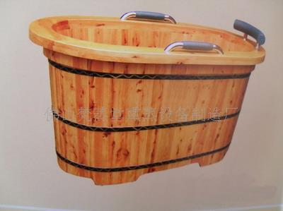手工作坊香柏木泡澡桶&蒸汽养生桶
