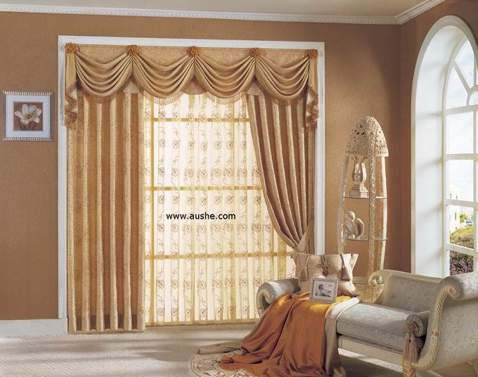 罗马窗帘主卧室效果图