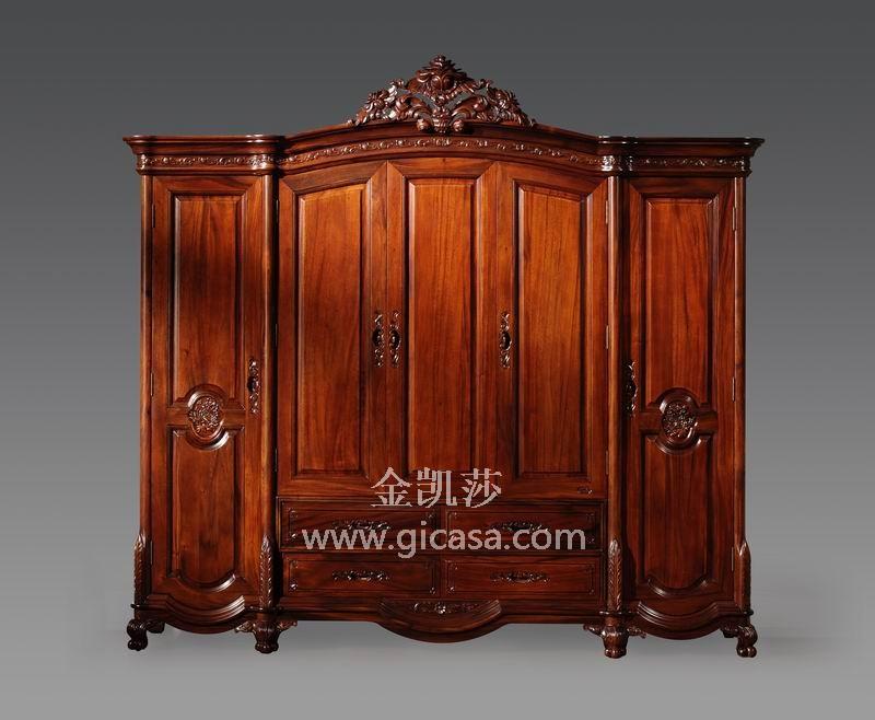 供应欧式衣柜-欧式实木家具品牌-欧式古典家具