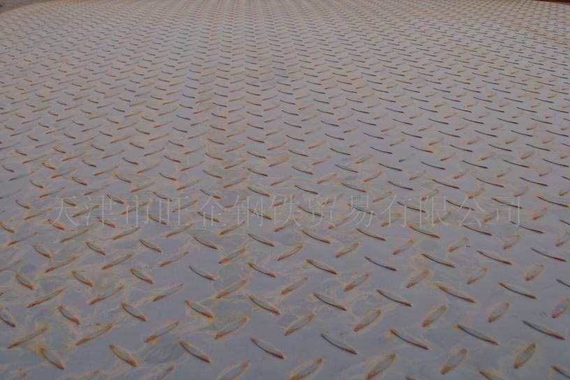 天津花纹板 天津花纹卷 镀锌花纹板 热轧花纹板 花纹板(卷)规格 镀锌