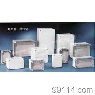 供应防水按钮盒 防水塑料盒 防水接线盒