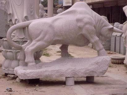 供应圆雕,斗牛,拓荒牛 动物雕塑