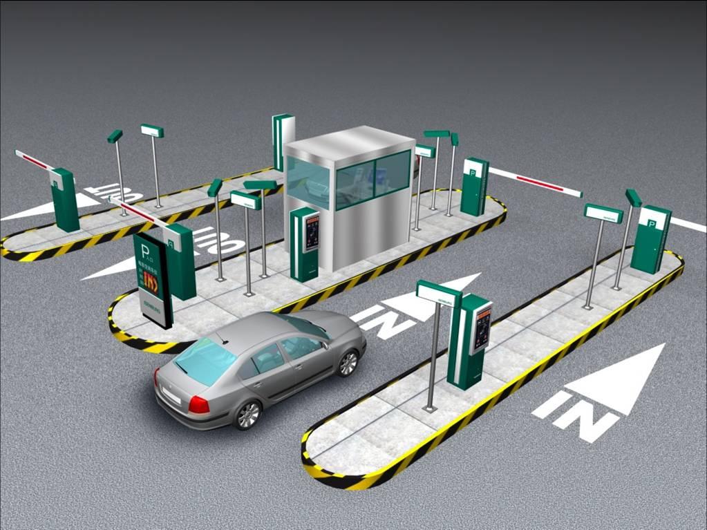 停车场管理系统_停车场地坪系列图片