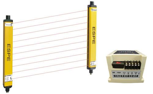 供应红外线安全防护装置/安全光栅/安全光幕