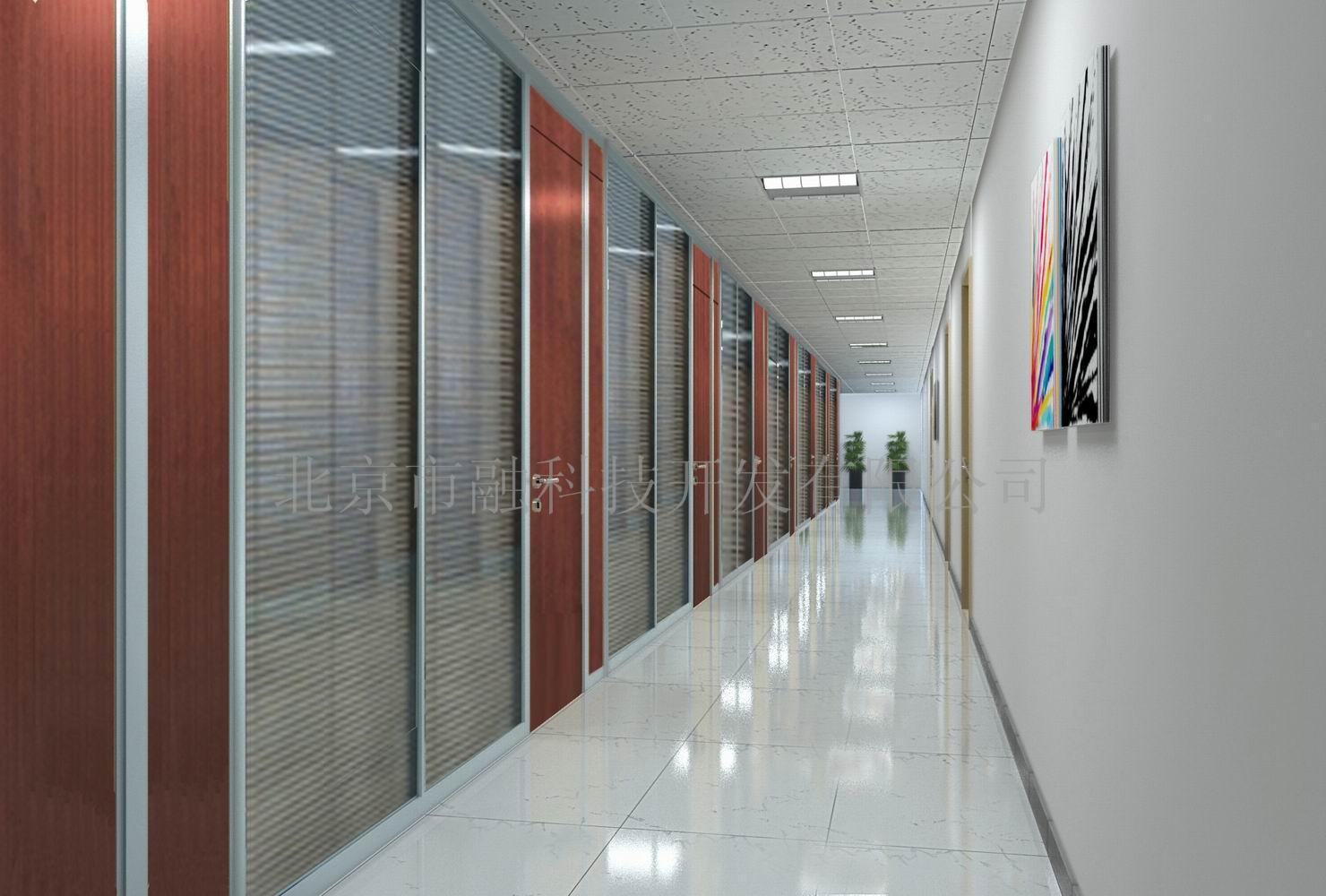 品 名:高隔间/高隔断/双玻百叶隔断 型 号:SR-G80系列 框架材质:铝镁合金,银白氧化、白色、铝本色、喷涂、转引边框 内置材质:5+5MM钢化/10-12MM钢化/硅钙板材/手、电动铝百叶 适用范围:高档写字楼,CBD商务中心,政府机关部门 石融隔断系列特点1、隔断型材可重复利用率高:铝合金型材办公隔断拆卸后的重复利用率可达到90%以上。   2、可选用各种工艺、风格的玻璃、板材等面板进行组装,具有更强的隔音、装饰效果。   3、便于拆卸:独特的结构设计,不仅安装简便高效,而且维修拆卸简单,可任意一