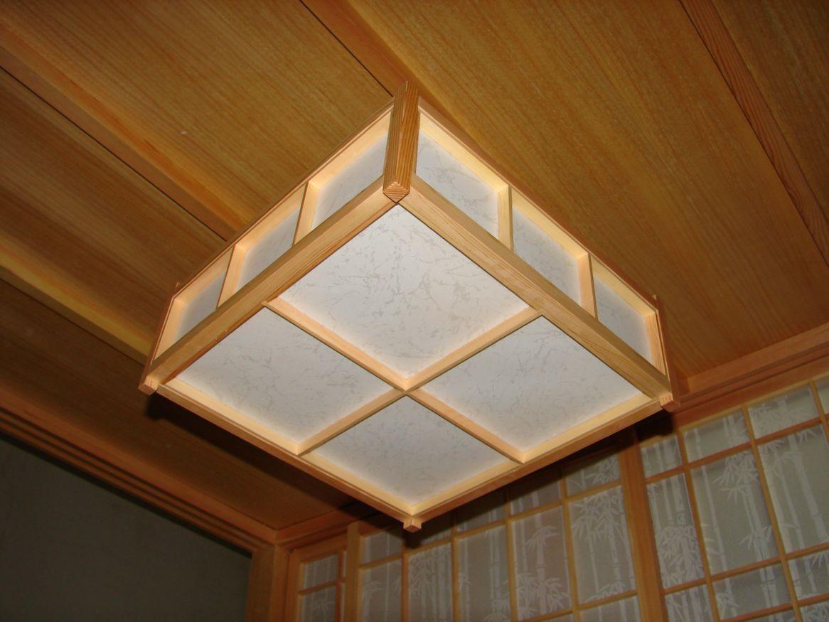 榻榻米装修和室灯