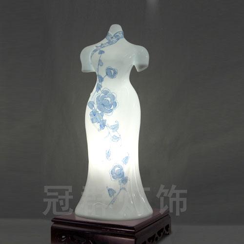 创意旗袍手绘设计图