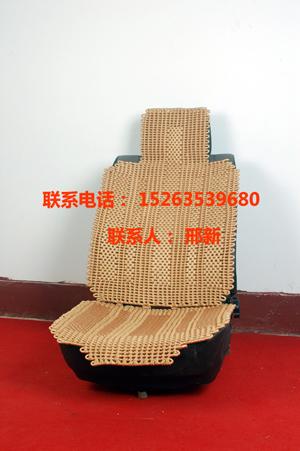 手工编织汽车凉垫 手工编织汽车坐垫