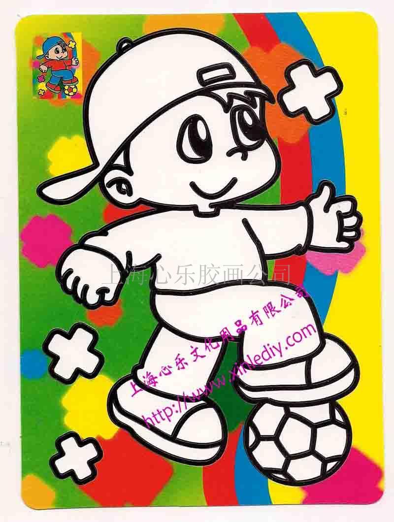 批发上海心乐砂画厂,批发炫彩沙画,儿童沙画,上海心乐