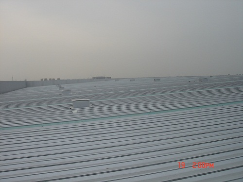 供应钢结构厂房屋面钢结构彩钢板屋
