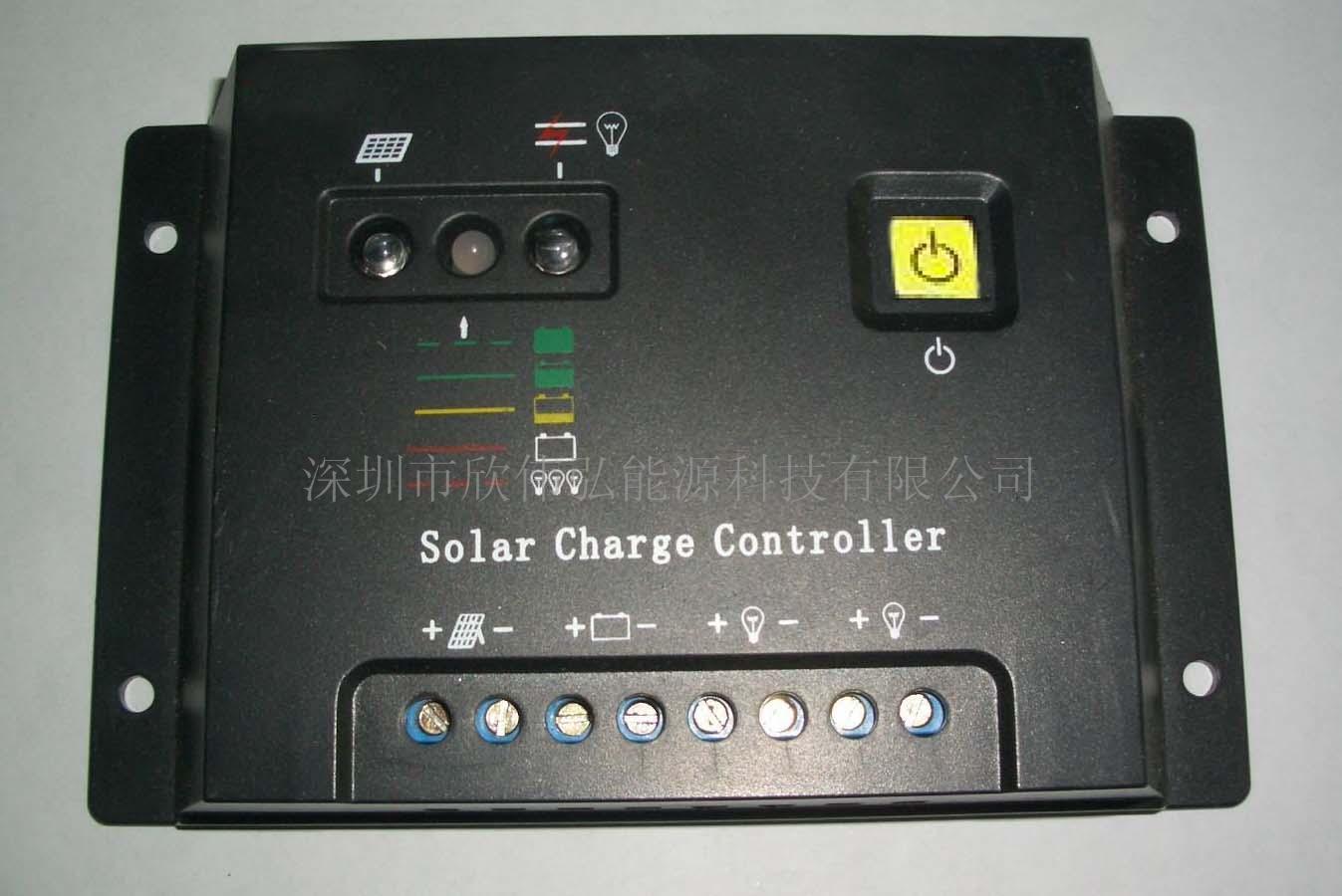 供应欣伟弘太阳能路灯控制器 12V/24V1 欣伟弘12V/2 防潮型太阳能路灯 额定充电电流 5A 10A 20A 额定负载电流 5A 10A 20A 系统电压 12V、24V 36V、48V 过载保护 1.3倍额定电流60秒,1.6倍额定电流5秒时过载保护动作 短路保护 25A 50A 100A 瞬态电流 12.5A 25A 50A 空载损耗 <5 mA 充电回路压降 不大于0.