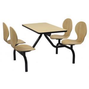 曲木快餐桌椅_曲木餐桌椅