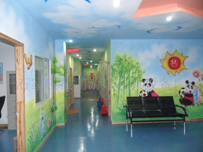 幼儿园喷绘 幼儿园喷绘图片 幼儿园墙壁环境布置 墙面环境设计 彩色喷
