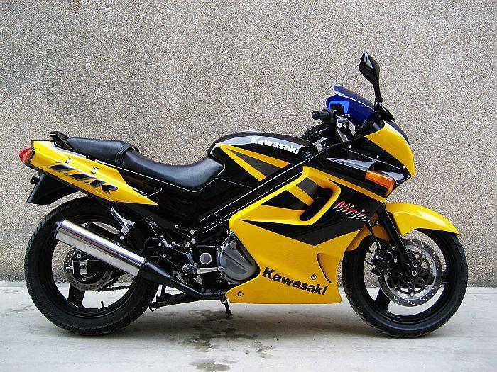 实价销售川崎zzr250摩托车 价格;3600元