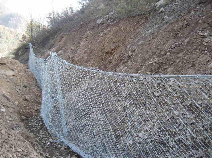 根据铁道部标准定做-rx-050型sns被动防护网