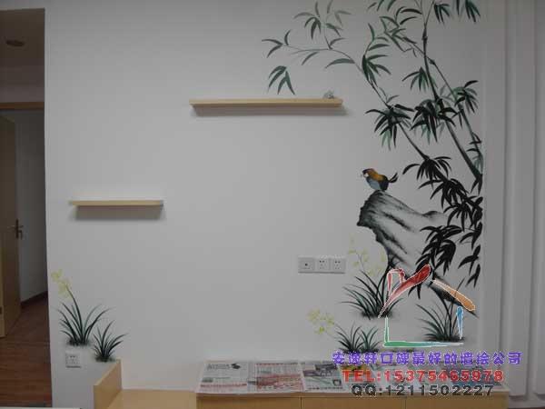 合肥卧室墙体彩绘合肥墙体彩绘手绘墙画将北京市展出