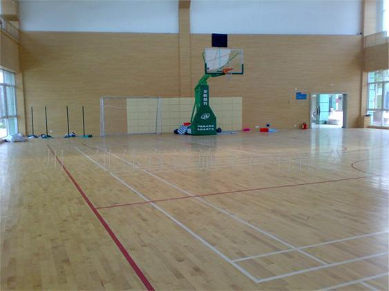 供应体育馆专用运动木地板