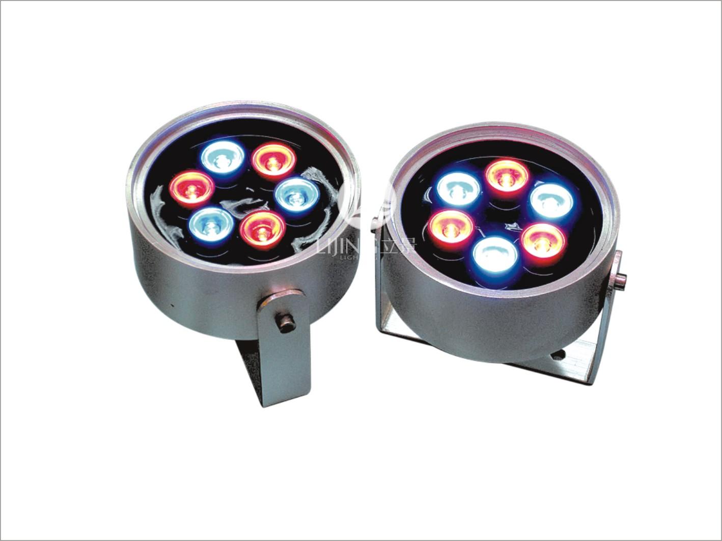 led大功率圆形7w投光灯 led大功率灯具 led投光灯 大功率投光灯