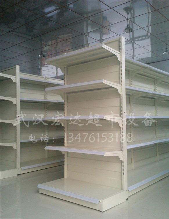 双面韩 式货架 超市 货架效果图 武汉 精品店 货