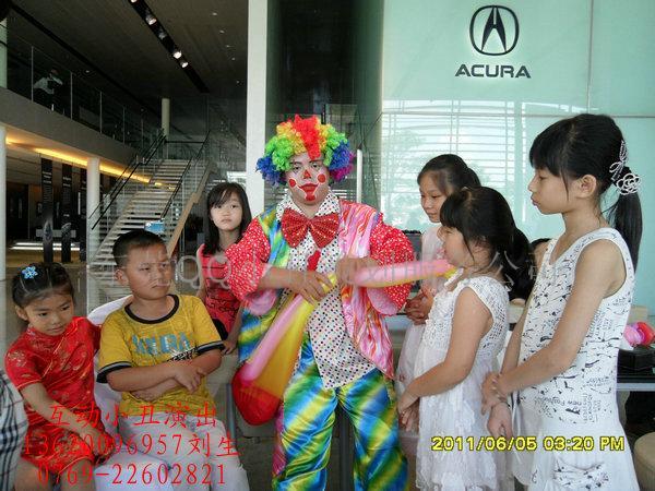 东莞寮步讴歌汽车活动小丑高清图片