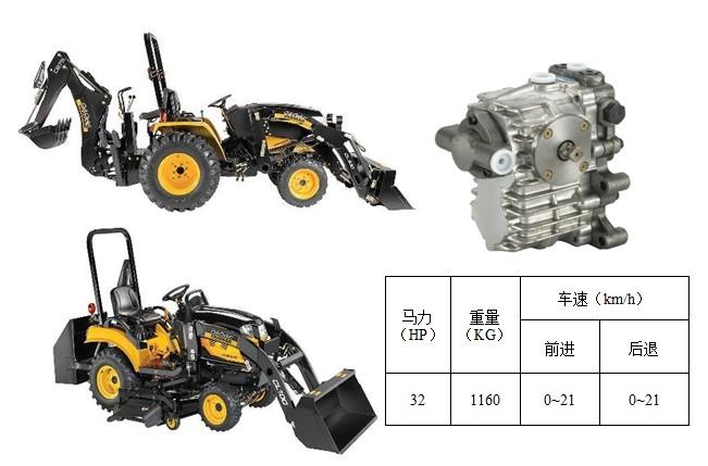 供应小型两头忙专用静液压传动器hst图片