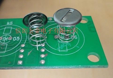 供应洗衣机微波炉触摸弹簧各种触摸按键弹簧