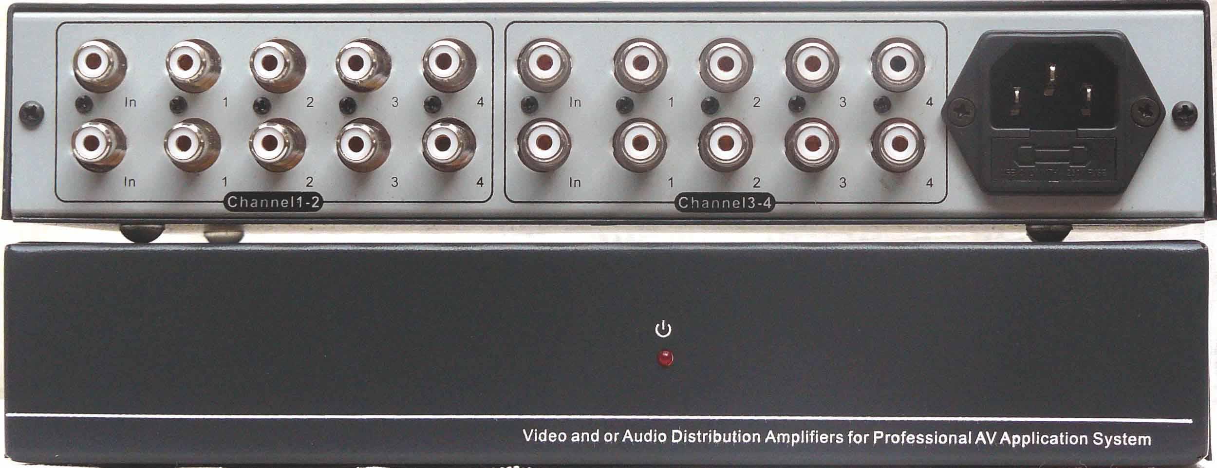 标的音频分配放大器