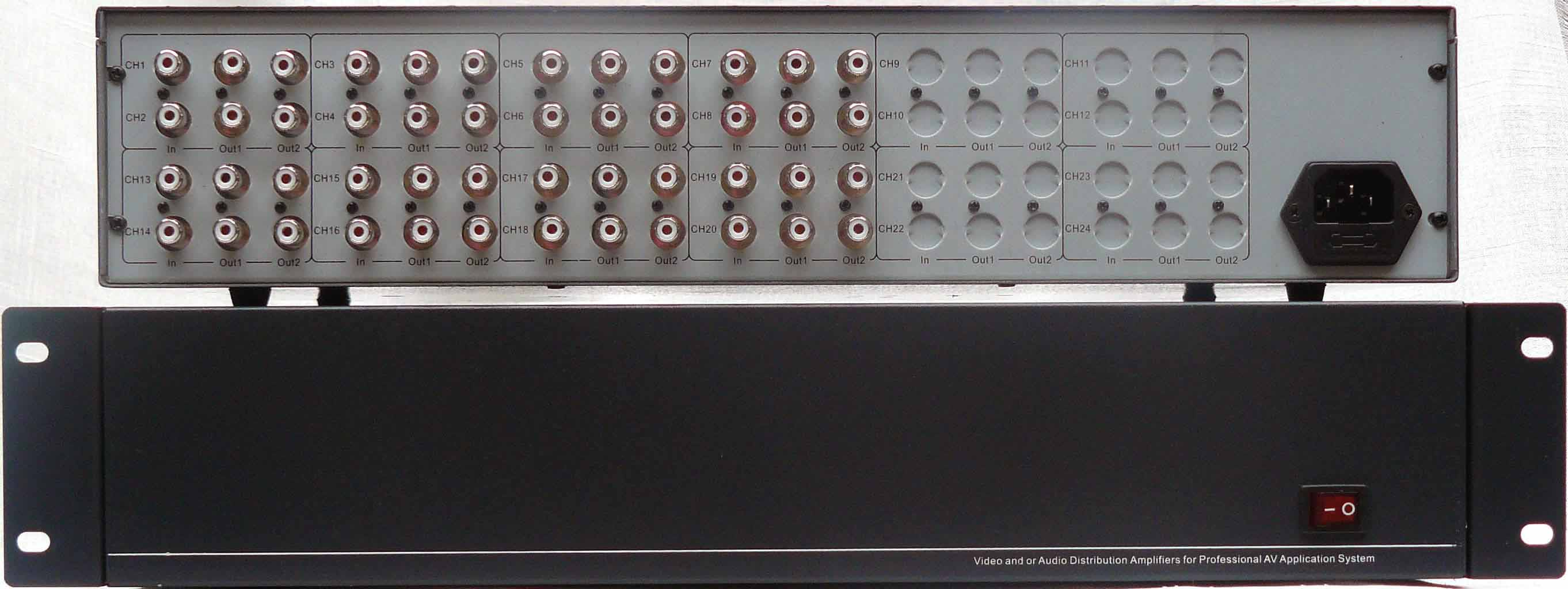 供应8进16出音频分配器