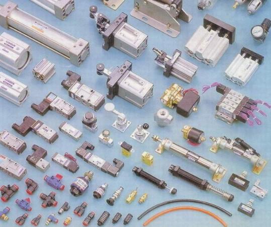 气动元件 气缸 气管 气管接头图片