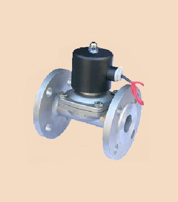 供应2w水用法兰电磁阀_2w水用电磁阀_2w电磁阀_上海苏图片