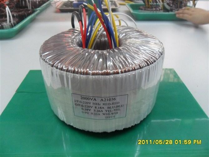 供应环形变压器2000va