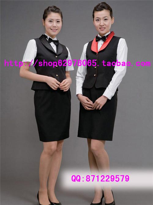 供应西餐厅服装|餐厅服务员工作服|酒店制服|会所服务