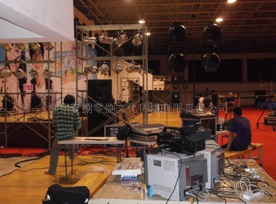 柳州大型庆典设备,舞台灯光,音响租赁