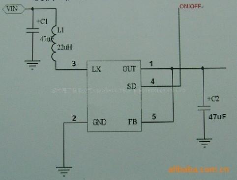 分立元件升压电路图