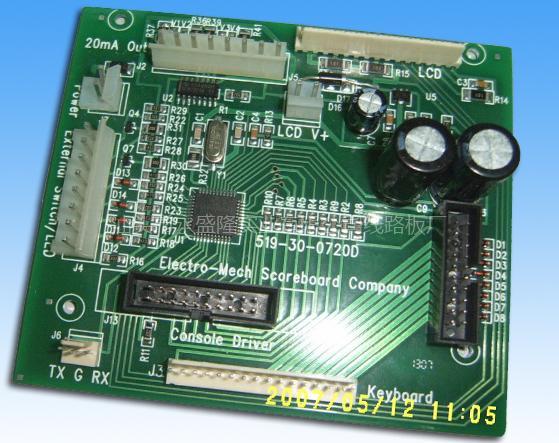 555门铃电路pcb板